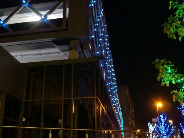 Merrion Centre lighting Leeds