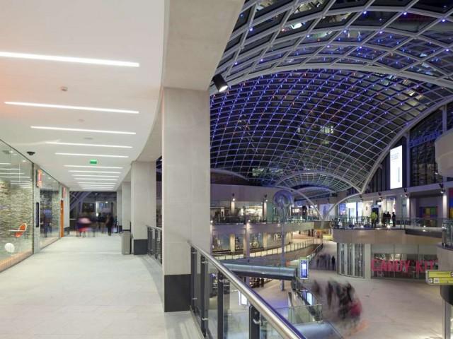 Trinity Shopping Centre lighting