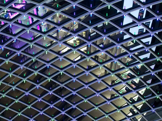Trinity Shopping Centre lighting