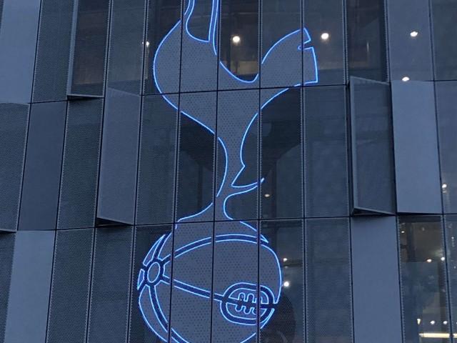 Tottenham Stadium signage