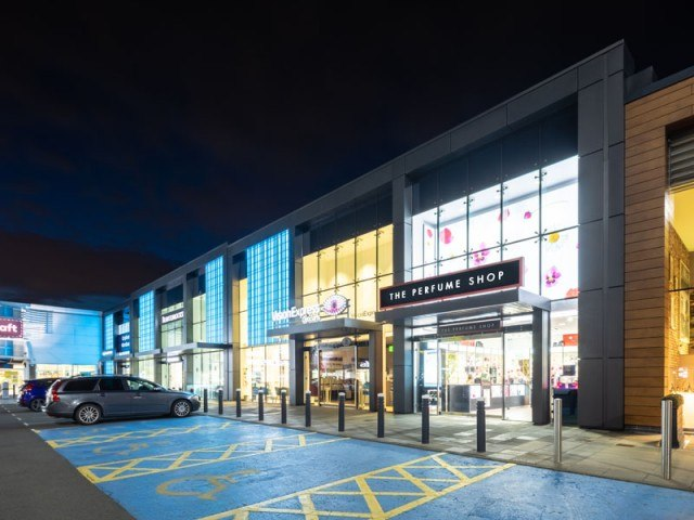 Fort Kinnaird lighting