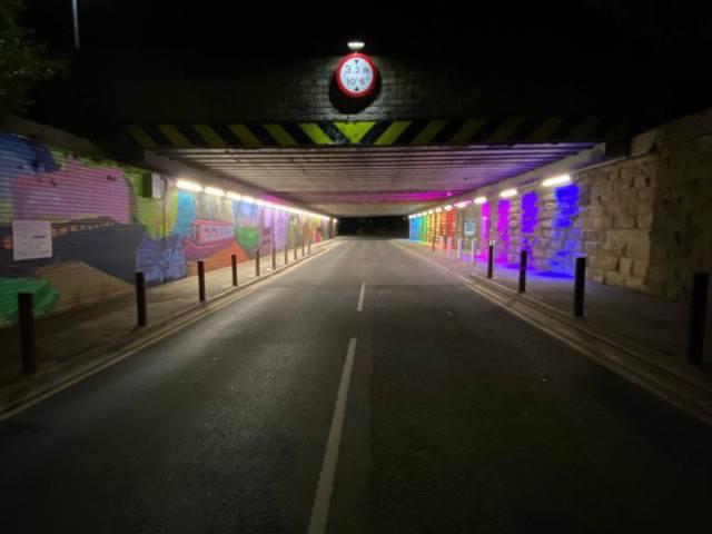 mirfield underpass 1
